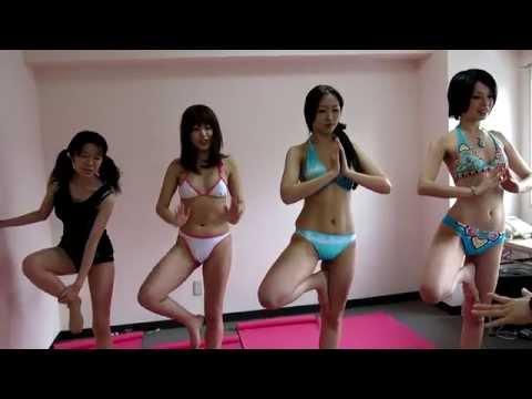 水着でヨガ1・プロモーション動画
