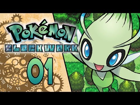 Pokemon Clockwork Part 1 - CELEBI SAYS HI! Pokemon Fan Game Gameplay Walkthrough