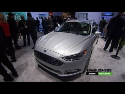Ford CEO Fields introduces new autonomous vehicle