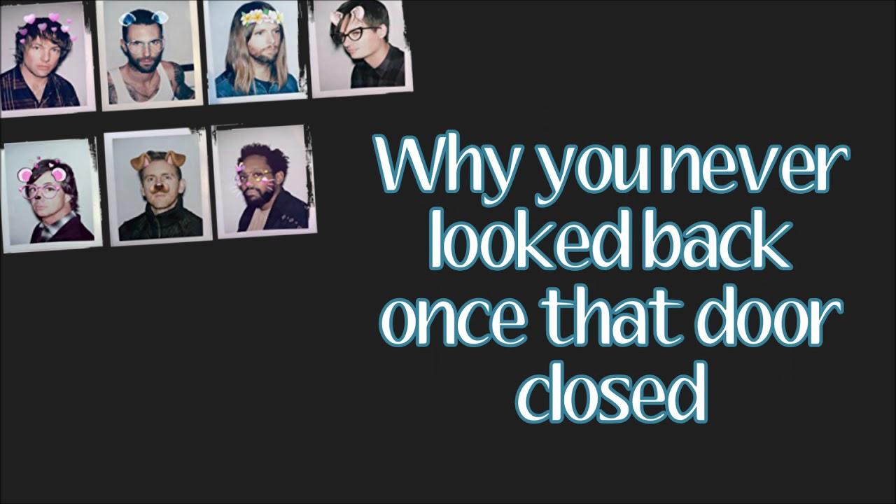 Maroon 5 Denim Jacket Lyrics Youtube