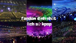 Những FANDOM đỉnh nhất lịch sử KPOP/ Best Kpop fandoms ever