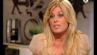 Pernilla Wahlgren intervjuas av Tilde de Paula 2005