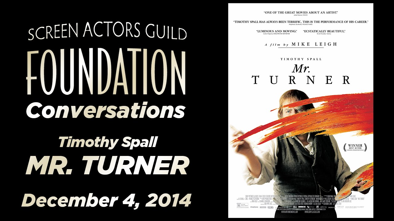Conversations with Timothy Spall of MR. TURNER