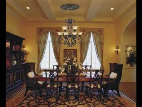 Simple Dining Room Curtains