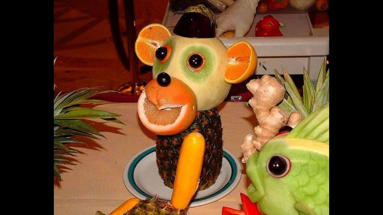 Новогодние украшения год обезьяны
