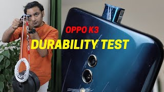 OPPO K3 POP UP Camera Durability Test | SCRATCH WATER BEND DROP | Gupta Information Systems | Hindi