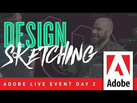 Design Sketching – Adobe Live Event Day 2