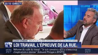 Alexis Corbière sur la loi travail 1/09
