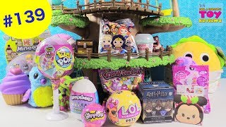 Blind Bag Treehouse #139 LOL Surprise Pets Pikmi Pops Disney Hatchimals Toy Opening | PSToyReviews