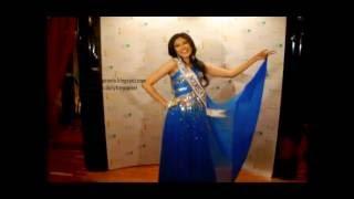 Zivanna Letisha Miss Indonesia Universe 2009 Evening Gown Presentation