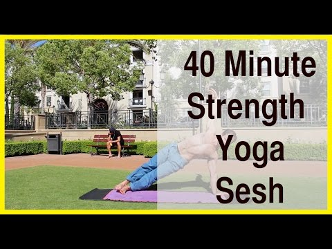 Yoga Workout For Strength - 40 Minute Yoga Class