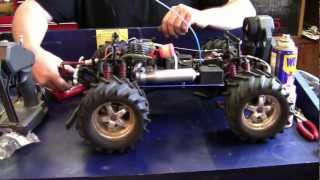 Repeat youtube video T-Maxx Engine Rebuild & First Fire