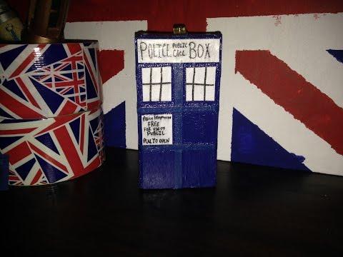 Mini Tardis | Doctor Who DIY