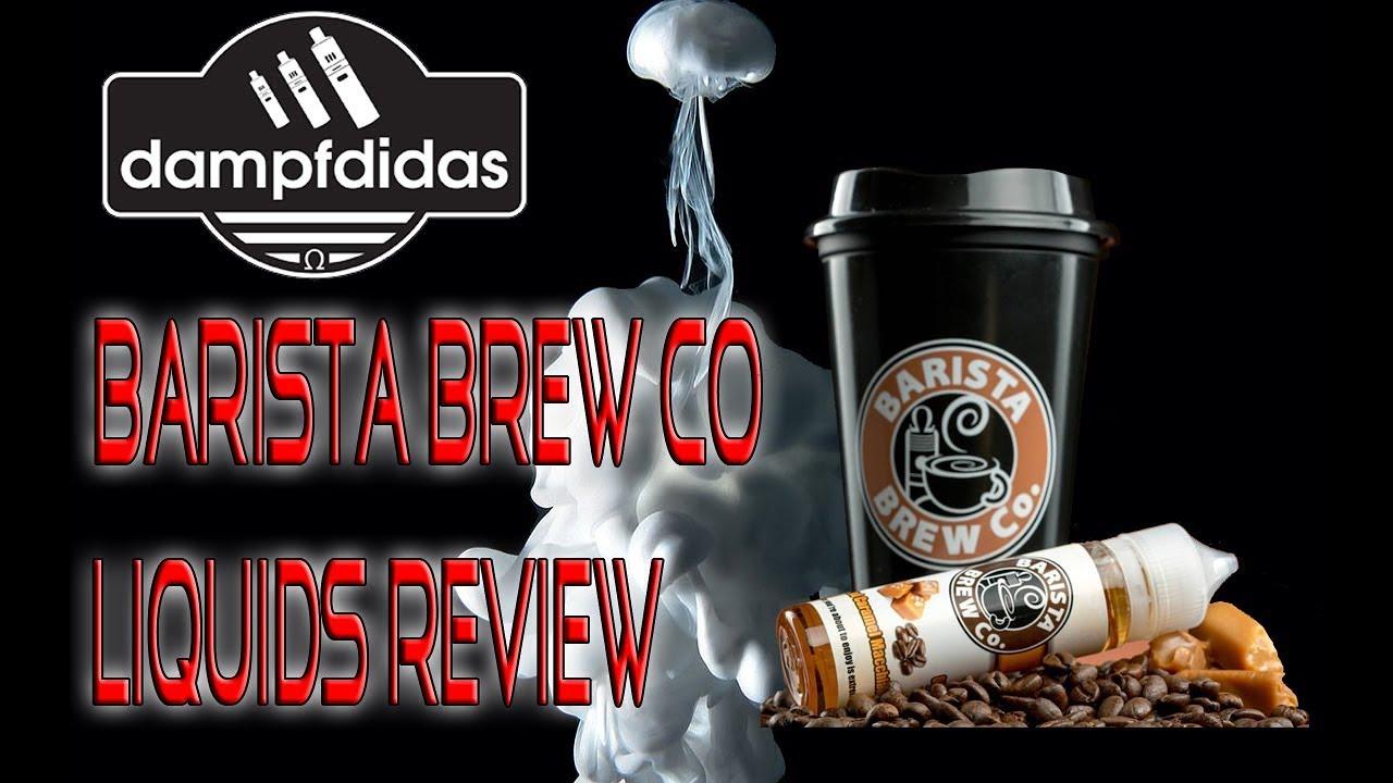Barista Brew Co Liquids Serie Review (Salted CaramelMmacchiato etc)