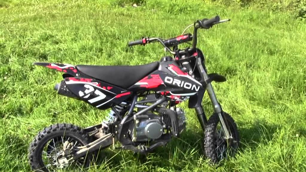 dirt bike 125cc orion youtube. Black Bedroom Furniture Sets. Home Design Ideas