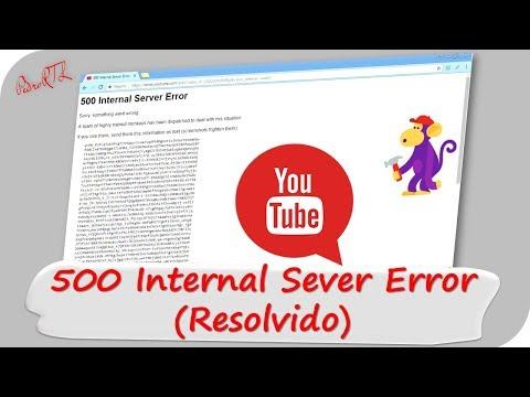 ▶SOLUÇÃO: 500 Internal Server Error ! (Corrigido)