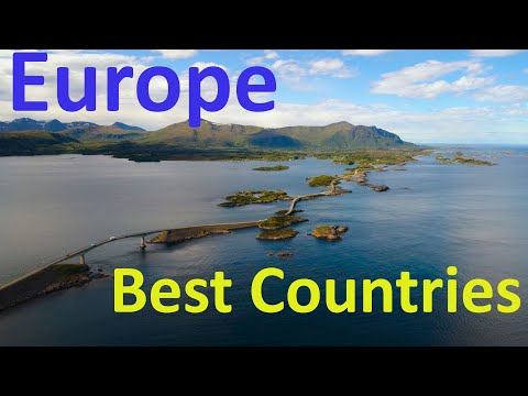 The 10 Best Countries In Europe To Live, Visit \u0026 Working In 2021