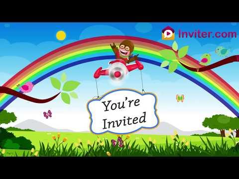 animal-themed-birthday-invitation-template-|-whatsapp-birthday-video-invitation-|-inviter.com