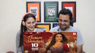 Pakistani Reacts to Param Sundari -Official Video | Mimi | Kriti Pankaj Tripathi | AR Rahman Shreya