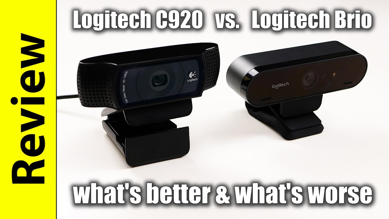 a3095978aac Logitech Brio Review & Comparison to the Logitech C920 - YouTube