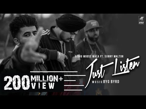 Just Listen | Official Music Video | Sidhu...