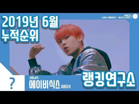 [랭킹연구소] 2019년 6월 보이그룹 누적순위 (남자아이돌 랭킹) | K-POP IDOL Boy Group Chart (June Brand Total)
