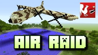 Things to do in Minecraft - Air Raid