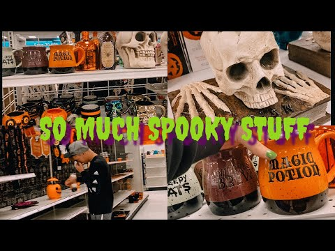 Follow Me Around |  Halloween Decor Shopping | Walmart | Ross | Target