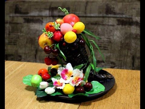 поделки фруктов из дерева