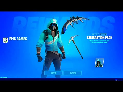 When Is The FREE CELEBRATION PACK 10 Coming Out? Fortnite How To Get PS4 Ps Plus Skin + RELEASE DATE