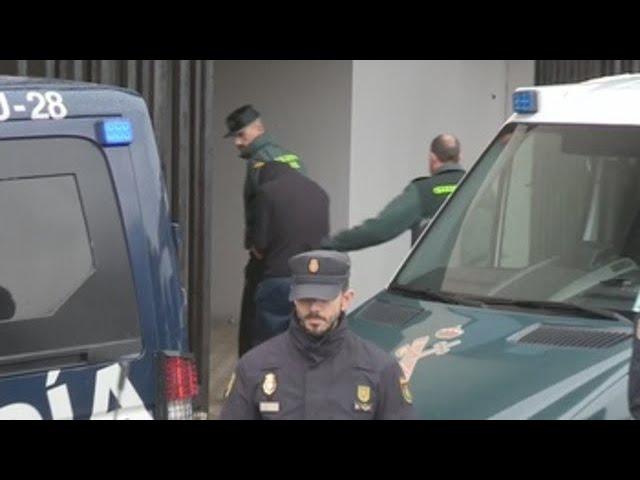 """El Chicle llegó al juzgado entre gritos de """"asesino"""""""