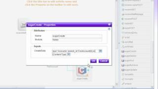 WebSphere sMash custom Activities for SugarCRM