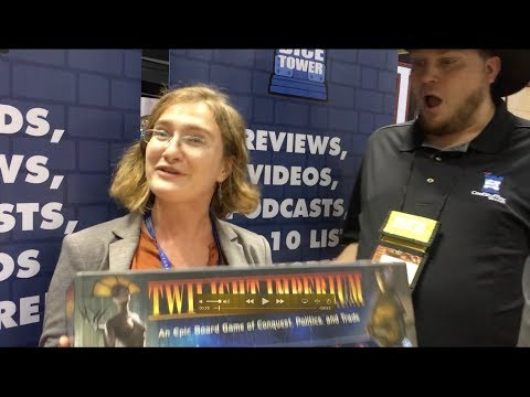 The Rules Girl is joining the Dice Tower! Bonus: Twilight Imperium Fourth Edition Unboxing