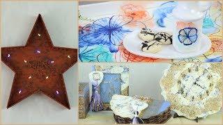 ManosalaObraTv 2018 Programa 18 - Pintura Decorativa - Tecnicas Mixtas - Efecto Oxido