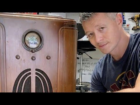 Restoring and modernizing a 1940's radio