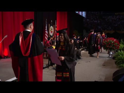 2018 School of Business Undergraduate Ceremony