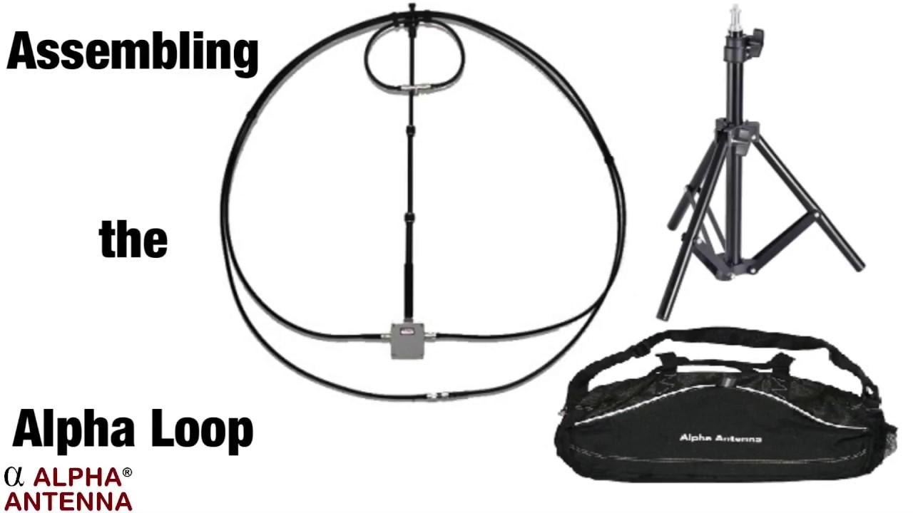 10 80m magnetic alpha loop antenna 100w 10 40m 20w 40 60 80 10 80completeloop 500 00 alpha antenna vertical dipole portable base mobile magnetic  [ 1280 x 720 Pixel ]