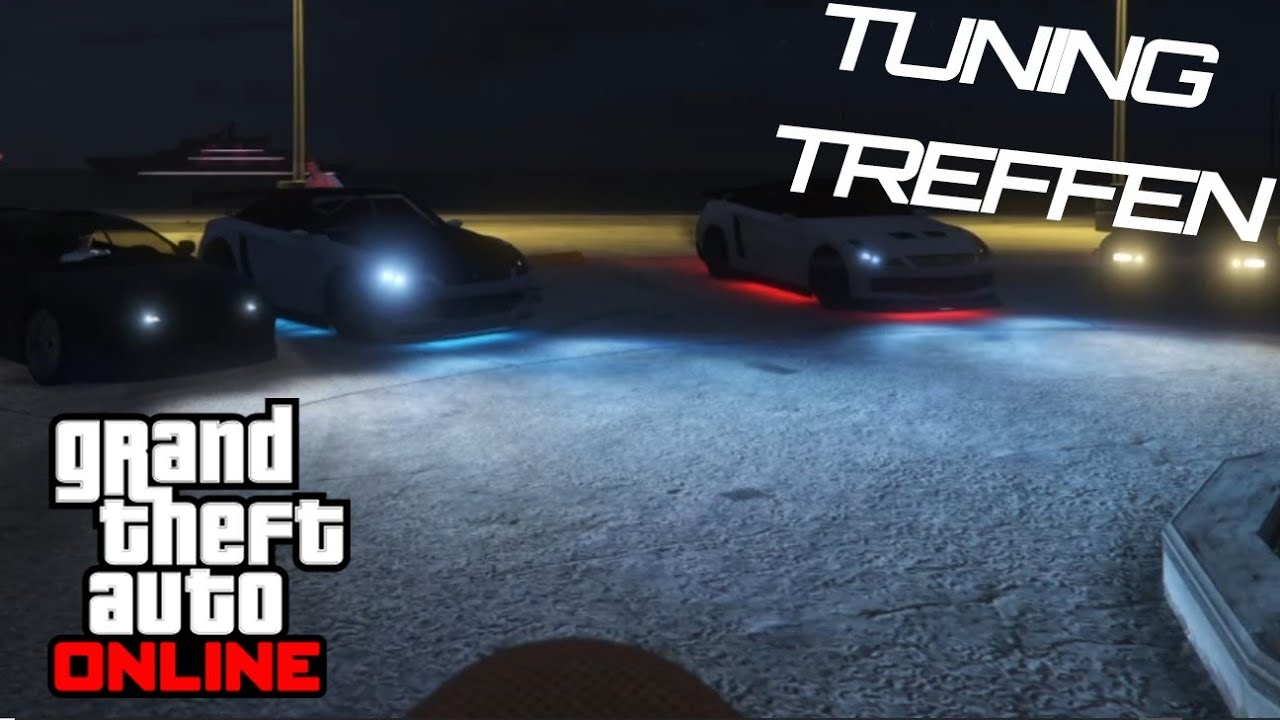 GTA TUNING TREFFEN mit euren LIEBLINGS Autos   GTA Online