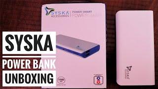 Syska 11000 mAh Power Bank Unboxing Best Power Bank Budget Power Bank