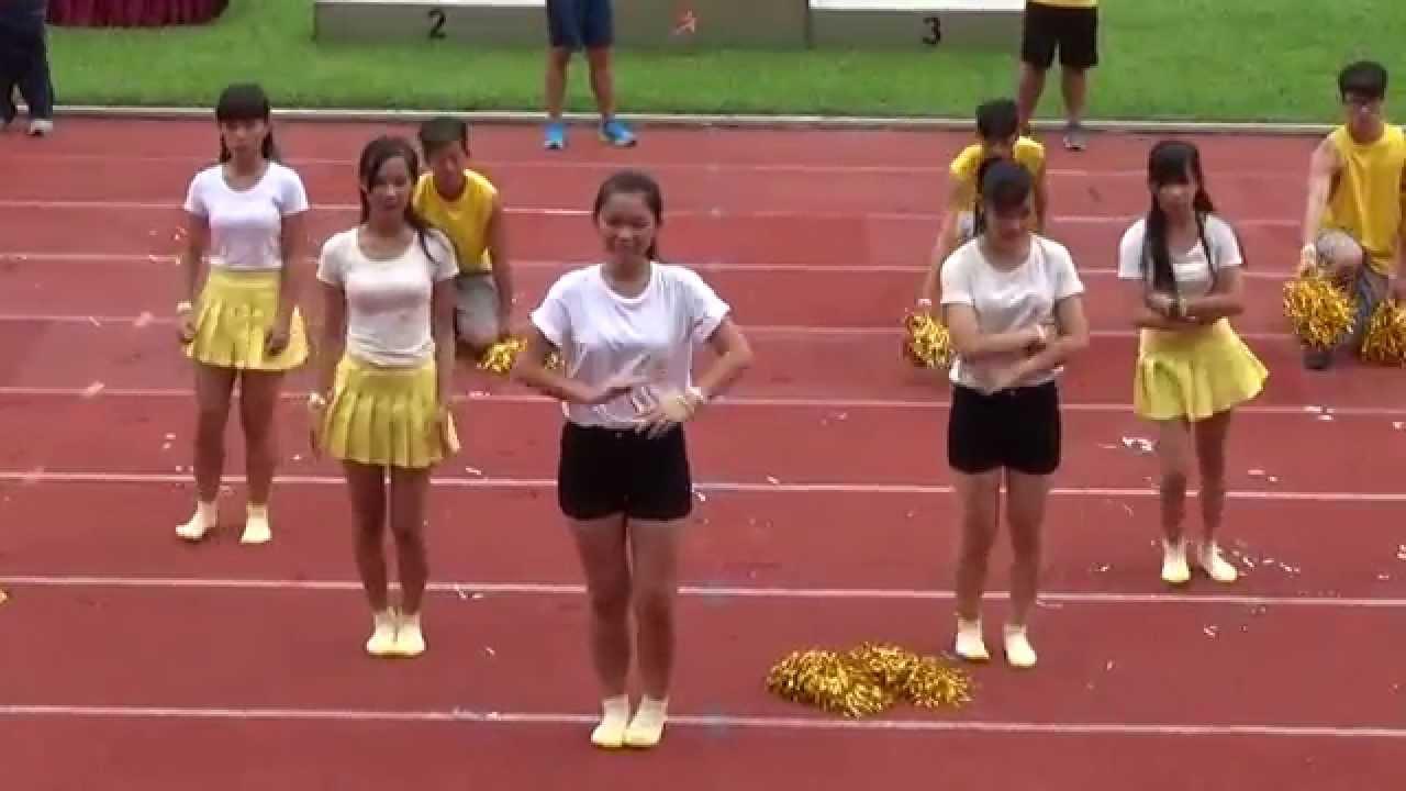 yellow house cheering team (07/09/2015) - youtube