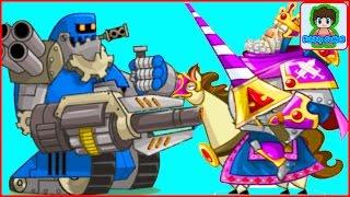 Открытие сундуков Игровой Мультфильм для детей про БОИ и СРАЖЕНИЯ Tower Conquest