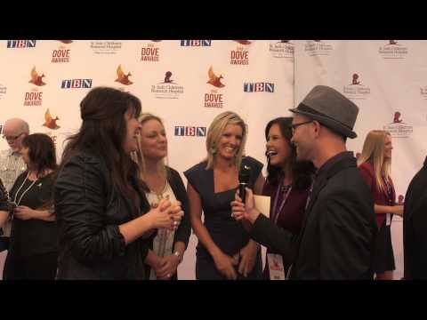 Point of Grace On the Red Carpet at The 2014 Dove Awards