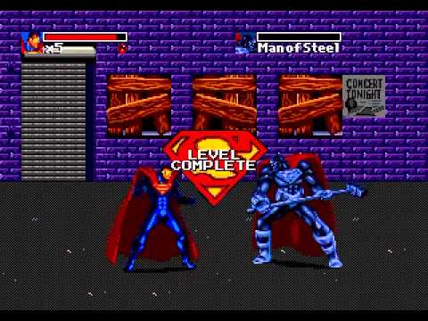 Mega Drive Longplay [292] The Death and Return of Superman