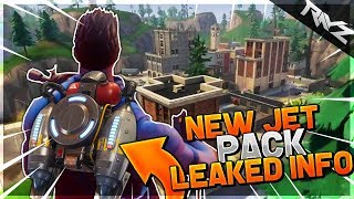 NEW JETPACK LEAKED CODE! NEW JETPACK CHALLENGE + GNOMES COMING TO FORTNITE BATTLE ROYALE!