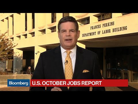 U.S. Adds 261,000 Jobs in October, Jobless Rate 4.1%