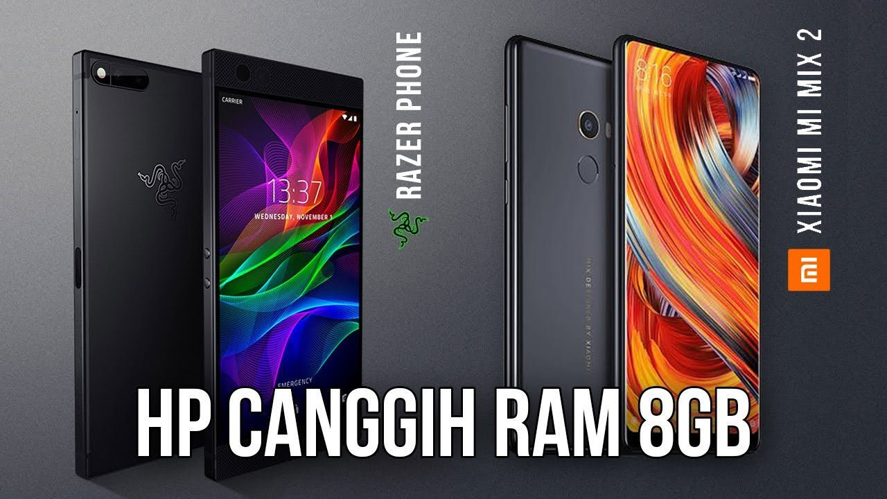 5 Smartphone Ram 8gb Terbaik Laptop Aja Kalah Youtube