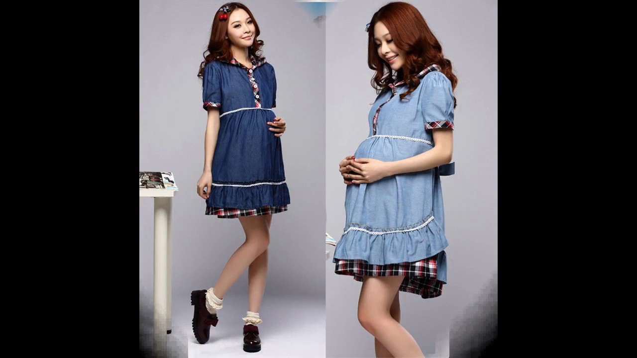 51c83b44c1 Moda tendencias Vestido de mezclilla de moda - YouTube