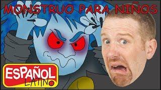 Monstruo para niños | Aprender con Steve and Maggie Español Latino | Canciónes para Niños
