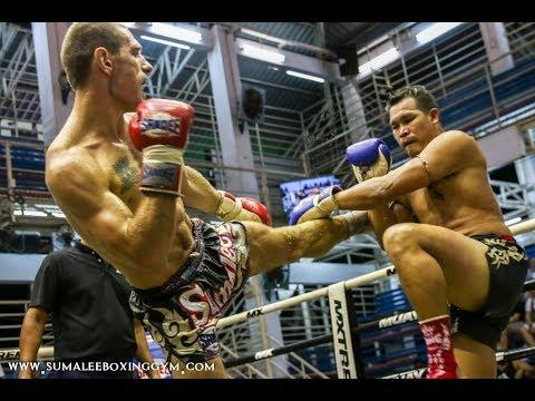 Ivan ( Iron Man ) Horvat Sumalee fights at Bangla Boxing Stadium, 18th October 2017