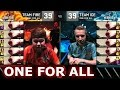 Team Ice vs Team Fire - All For One   LoL All-Star Event 2016 Day 2   5 Lee Sin vs 5 Lee Sin